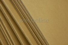1190mm X 775mm Double Wall Cardboard Corrugated Sheets Pads Art Craft Board (50)