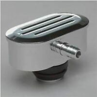 """Billet Specialties 21920 PCV Breather Oval Ball Milled 1-1/4"""" Valve Cover Hole"""