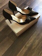 Caparros Black Satin Heels Size 10M