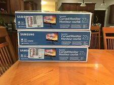 "Samsung 27"" Curved Monitor (cf396)"