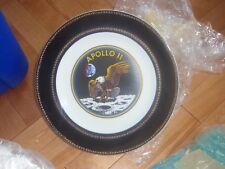 RARE Apollo 11 Eagle Landing on Moon china dinner collector plate no markings