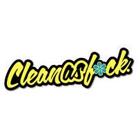 Clean As Fck Sticker Decal JDM Car Drift Vinyl Funny Turbo