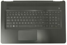 New HP Pavilion 17-AB Palmrest Touchpad Cover QWERTY UK Keyboard L02743-031