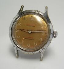 1950's Vintage Helios Watch co 17 jewel military type Watch wristwatch W 39