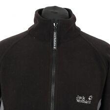 JACK WOLFSKIN Nanuk Thick Fleece Jacket | Coat Warm Hiking Walking Trekking