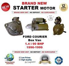 Per FORD COURIER Box Van 1.4 i 90 BHP 1996-1999 Motore di Avviamento Nuovo di Zecca 10 DENTI