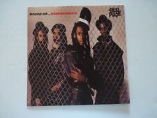 Steel Pulse State of ...Emergency LP Record Photo Flat 12x12 Poster