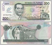 Philippinen / Philippines 200 Piso 2009 p203a unz.