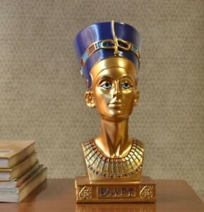 Vintage Egyptian Resin Statue Sculpture Figurine Tabletop Home Office Decoration