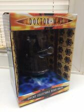 DIECAST COLLECTABLE BLACK DALEK Doctor Who TV Series Model - Brand New & Boxed