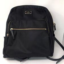Kate Spade WKRU3919 Large Hilo Blake Avenue Computer Backpack - Black Nylon