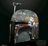 PRE ORDER Star Wars The Black Series Boba Fett Premium Electronic Helmet 5/4/20
