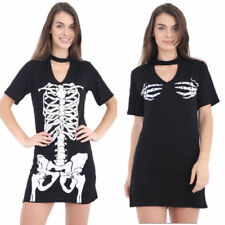 Halloween Regular Size T-Shirts Dresses for Women