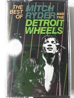 Best Of Mitch Ryder & Detroit Wheels Cassette Tape