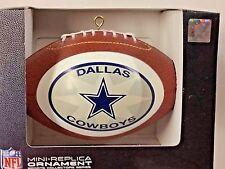 NFL Dallas Cowboys Replica Football Ornament, NEW