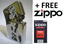 Windproof Refillable Lighter MARILYN MONROE High Quality Gift Idea + ZIPPO WICK