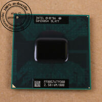 SLAYY SLAQG - Intel Core 2 Duo T9300 2.5 GHz Prozessor CPU P/Sockel 100% working