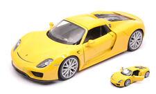 Porsche 918 Spyder 2013 Yellow 1:24 Model 24055H-YE WELLY