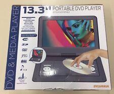 New listing Sylvania Sdvd1332-B_Cp2 13.3� Portable Dvd/Media Player w/ Swivel Screen