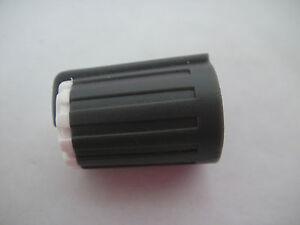 10pcs D-Shape Half-Moon Shaft Audio AUX Amp Pedal Effect Potentiometer Knob,W03B