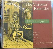 Frans Bruggen; The Virtuoso Recorder     Decca