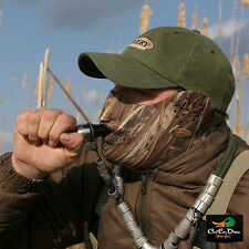 AVERY GREENHEAD GEAR GHG NEOPRENE CALLER'S MASK MARSH GRASS MG CAMO DUCK GOOSE