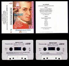 MOZART  - VOL. 2 - SPAIN CASSETTE 1991 - REVISTA TIEMPO - COMO NUEVO / NEAR MINT