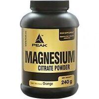 Magnesium Citrat Peak 240 g Eur5.38/100g