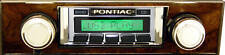 1967 68 Firebird USA-630 Custom Autosound AM/FM Radio MP3 USB Ipod doc