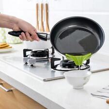 Slip-On Pour Spout Green Silicone Bowl Pot Pan Attachment Kitchen Gadgets FI