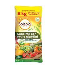 Concime Biologico per Orti e Giardini offerta 10 Kg +2 Kg omaggio - Solabiol