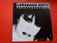 DISCO  45 g .     Loredana Bertè – Re / Fotografando  . 1986