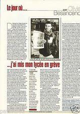 Coupure de presse Clipping 2002 Olivier Besancenot  (1 page)