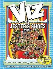Viz Annual: The Jester's Shoes 2018 by Dennis Publishing (Hardback, 2017)
