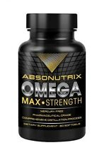 Absonutrix Omega 3 Max Strength Fish Oil EPA-800 DHA-600 Pharmaceutical Grade