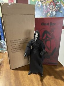 """Sideshow 100447 1/6 Scale Scream Ghost Face Collectible 12"""" Action Figure USED"""