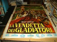 The Vendetta Of Gladiators Manifesto 2F Original 1964 Mickey Hargitay