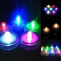 Lumière de thé florale submersible lumineux LED vase mariage imperméable