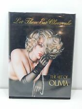 Let Them Eat Cheesecake The Art of Olivia Foreword by Hugh Hefner 1st edition