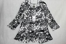 New Jersey 🧡 Eyecatcher Tunika Shirt Kleid A-Linie, Gr.XXXXL 52/54