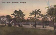 Postcard Major's Motel Kingsport TN