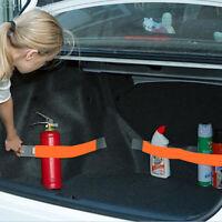 Universal Car Rear Trunk Organizer Elastic Strap Sticker Fixed Tidying Interior