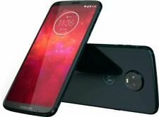Motorola - Moto Z3 Play 32GB Cell Phone (Unlocked) Deep Indigo