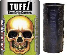 Tuff1 Tuff 1 Universal Fit Gun/Pistol/Revolver Cover 'DEATH GRIP' Skulls Black