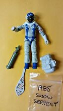 GI Joe Snow Serpent 1985  figure VG condition w/ some acc. SHOE BACKPACK MISSLE