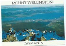 Colour Postcard of View From Mt. Wellington, Hobart, Tasmania