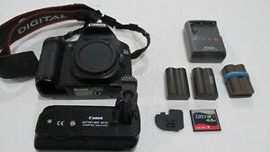 Canon EOS 40D 10.1MP Digital DSLR Camera Body + BG-E2 Battery Grip