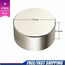 N35 Large Neodymium Rare Earth Magnet Big Super Strong Huge 40mm*20mm Round Size