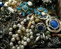 Estate Jewelry Lot Wholesale Grandma's Wearable Sellable Vintage Modern Pounds