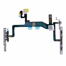 NEW Power Flex Cable - Mute Switch - Volume Buttons With Brackets For iPhone 6S